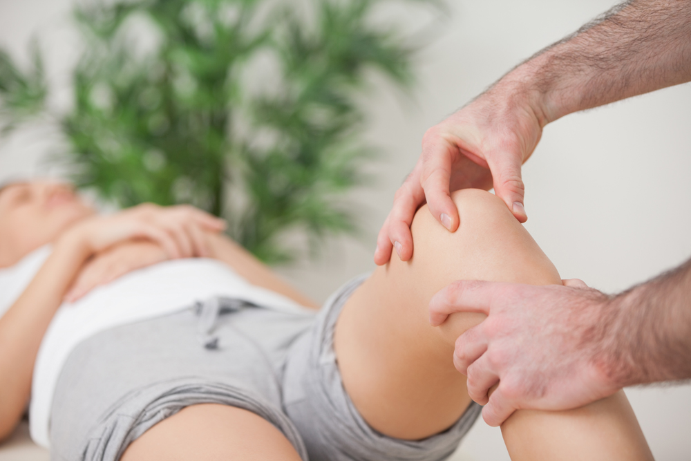 Man getting Chiropractic Adjustment